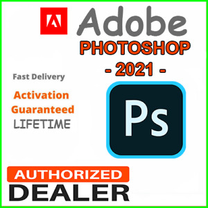 PHOTOSHOP & ILLUSTRATOR 2021 for Windows x64 & MacOSX AUTHORIZED DEALER