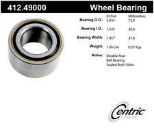 Wheel Bearing-Premium Bearings Rear,Front Centric 412.49000