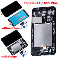 Replace LCD Display Digitizer Touch Screen Assembly for LG K11 / K11 Plus Phone