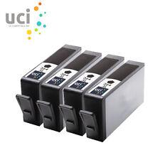 4x BK NonOEM 364XL Ink Cartridge For HP Deskjet 3070A 3520 e-AIO Officejet 4610