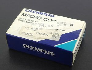 Olympus Genuine Macro Cord F7P for OM707, Boxed