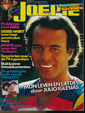 JOEPIE 388 (23/8/81) JULIO IGLESIAS TILTON ABBA BLONDIE HAGMAN SPANDAU BALLET