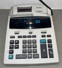 New listing Casio Desktop Printer Fr-2650 Dt 12 Digits Adding Machine Calculator Works Great