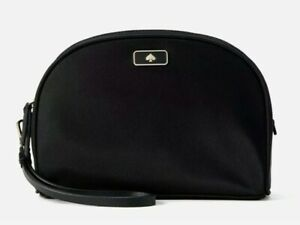 NWT Kate Spade Dawn Medium Dome Cosmetic in Black Sealed Unopened