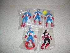 Lot of  Vintage Action Figures Loose - Captain America      1821