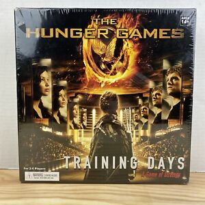 The Hunger Games Training Days A Game of Strategy Board Game New Sealed