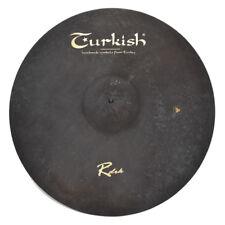 "TURKISH CYMBALS Becken 22"" Ride Rock RawDark bekken cymbale cymbal 3667g"