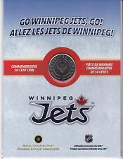 2011-12 Winnipeg Jets 50 cents commemorative coin Canada