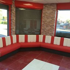 Bespoke Booth Restaurant Banquet Seating , Bench Fixed Seating reception