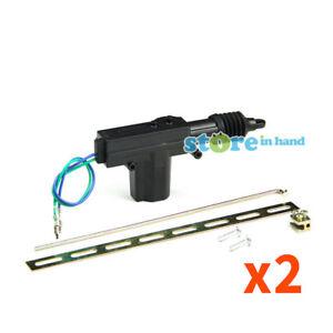 2x Car Central Door Lock Actuator Auto locking Motor Gun Universal Type 2 Wire