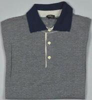 Kiton Mens Short Sleeve Knit Silk Linen Polo Shirt 50 M NEW  BN3/142