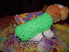 XXS Dog Apparel REFLECTIVE GLOW GREEN Sweater