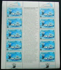 ASCENSION ISLAND 1981: ASCENSION ISLAND AND THE SPACE SHUTTLE: SHEETLET MNH