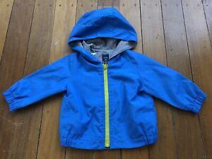 Boys Weather Jacket with Hood - Size 1 - Brand: Baby Gap