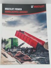 Hiab Multi Lift Power Tipper Brochure 6038