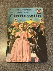 Vintage 1964 Cinderella Ladybird Book