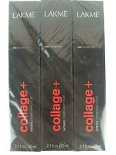 Lakme Collage+ Intense Creme Hair Color 6/61+ Ash Chestnut Dark Blonde Lot 3