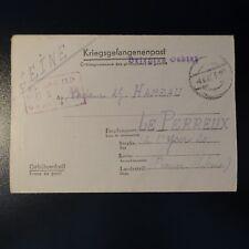 LETTRE PRISONNIER DE GUERRE STALAG II D 04.06.1942 KRIEGSGEFANGENENPOST POW