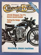 Classic Bike - Giugno / Jul 1980 - Matchless - Parilla - 250 Triumph - Rudge