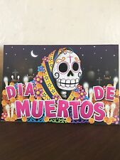 "Day of Dead Gift Card Pop-Up Altar Dia De Muertos ""La Catrina"" Tomb"