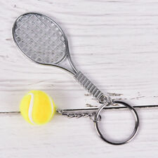 Tennis Sport Ball Keychain Keyring Souvenir Gift Pendant 6 Color Key Ring DSUK Yellow