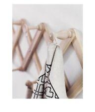 New IKEA Ryssby Pine Wall Mount Hanger Mugs Kitchen Rustic Decor Accordion