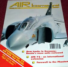 Air International Magazine 1992 November ATR72,Vought Cutlass,Typhoon,Draken