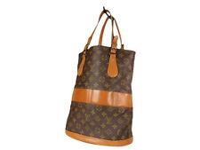 LOUIS VUITTON Vintage Bucket Monogram Tote Bag Shoulder Bag LS3589