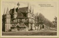 1613: Ansichtskarte Postkarte Frankenberg Eder Rathaus mit oberem Markt
