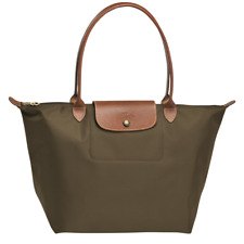 Authentic Longchamp KHAKI LE PLIAGE TOTE BAG Large Nylon Shoulder Bag BNWT