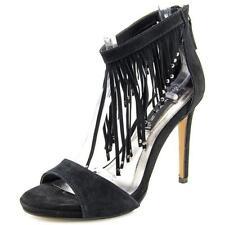 Zip Ankle Strap Slim Heel Sandals & Flip Flops for Women
