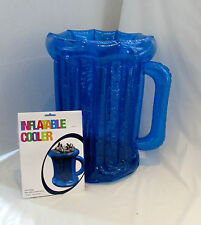 Blue Inflatable Beer Drinks Cooler 50cm BBQ / Garden Party Summer Tropical Beach