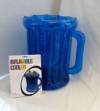 Blue Inflable Cerveza Bebidas Enfriador 50cm Barbacoa/Jardín Fiesta Verano Playa Tropical