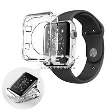 Funda Silicona para APPLE WATCH 42 mm SERIES 2 Protector Gel Transparente s428