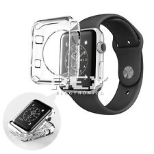 Funda Silicona para APPLE WATCH 42 mm SERIE 2 Protector TPU Transparente s428