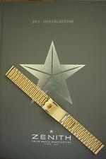 NOS VINTAGE 20MM FINE GOLD LINK WATCH BAND WATCHBAND BRACELET STRAP FOR ZENITH B