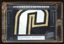 2012 PRIME SIDNEY CROSBY #D 1/2 SUPER PATCH LOGO CAPTAIN'S CLOTH  BEAUTIFUL RARE