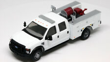 River Point Station 1/87 (Ho) Scale Ford F-550 Crew Cab Brush Truck Fire - White