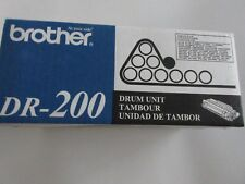 New GENUINE Brother DR-200 Drum Unit DR200 Sealed in Box
