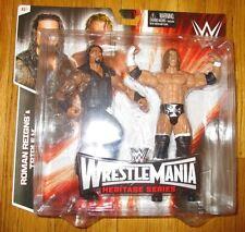 WWE WRESTLEMANIA 31 HERITAGE BATTLE PACK ROMAN REIGNS VS TRIPLE H FIGURE 2-pack