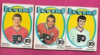 1971-72 OPC PHILADELPHIA FLYERS  CARD LOT  (INV# J0456)