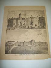 ST. PETER ILLUSTRATIONS PAGE ANDREAS MINNESOTA ATLAS 1874