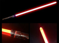 Star Wars Red Lightsaber Darsmore Cosplay Sword Dueling Force Blade Alloy Gift
