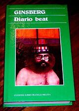 Diario beat Allen Ginsberg Gordon Ball Barbara Lanati Umberto Capra 1979