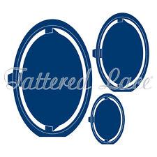 Tattered Lace Cutting Dies Essentials Accordion Oval ETL242