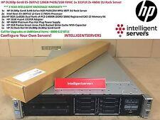 HP DL380p Gen8 E5-2697v2 128GB P420i/1GB/1x 331FLR 2x 460W 2U RACK SERVER