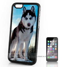 ( For iPhone 4 / 4S ) Back Case Cover P11305 Husky Dog