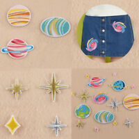 DIY Embroidery Sew On Iron On Patch Clothes Badge Fabric Applique Craft Sticker