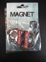 Hamburg Meine Perle Moin Moin 3D Metall Fridge Magnet Souvenir Germany,Neu