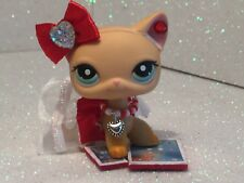 Littlest Pet Shop Clothes LPS Accessories Custom Outfit RED NO CAT/DOG ADORABLE